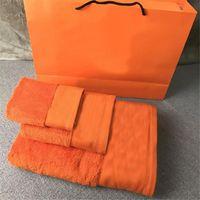 Klassische Sticktücher Set Designer Praktisches Handtuch Erwachsene Handtücher Badetuch Weiche Baumwolle Strandtuch 3 Stück 1 Set