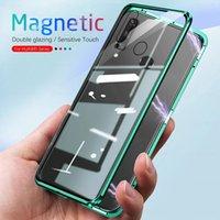 360 ° Tam Kapak Manyetik Flip Kılıf iphone 7 8 Artıx XS XR Max 11 12 Mini Pro 7G 8G 7 Artı Çift Taraflı Temperli Cam Telefon Kılıfları Coque