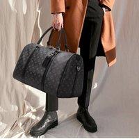Homens Duffel Bags Moda Designer Mulheres Saco de Viagem Pôquer Flor Black Bagagem Bolsas de Bagagem Grande Capacidade Esporte Ao Ar Livre Total 45-55-60cm # 51885