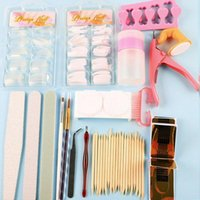 Nail Art Kits Acrylic Pen Brush Tool Kit Manicure For Beginners Tools Set Glitter Powder Decoration