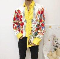 HTO Luxury Designer мужская деловая повседневная рубашка мужская с длинным рукавом полосатая стройная посадка Camisa Masculina Medusa Социальная клетчатая рубашка модной рубашки