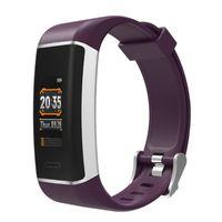 W7 GPS-Herzfrequenz-Monitor Smart Armband Fitness Tracker Sports Smart Watch Wasserdichte Farbbildschirm-Passometer Smart Watch für iOS Android