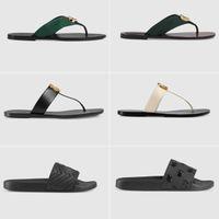 2019 Designer Sandals Uomo Pantofole Gear Bottoms Flip Flops Ladies Luxury Fashion Casual Size 35-45 con scatola