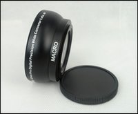 Professional Macro 52mm 0.45x WIDE Angle + Conversion LENS+ Front Rear Caps+Lens Bag For Thread Camera Camcorder11