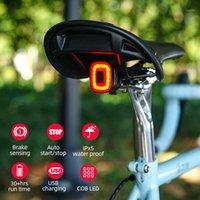 Велосипедные огни Enfitnix Cubelite2 для велосипеда умный задний свет тормозные чувствительные IP65 водонепроницаемый светодиодный велосипедный хвост Taillight1
