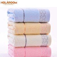 Serviettes de bain 140x70cm Serviette 100% coton Serviette 6 couleurs en coton disponible en coton naturel Serviette de bain brodée écologique T200529