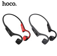 HOCO S17 Hueso Conducción Bluetooth Auricular inalámbrico auricular Estéreo Auriculares Deportes Titanio Auricular impermeable para iPhone Running Driving