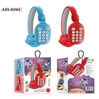 Popular AH-806C earphones Wireless Bluetooth Headband Game Headphones For Kids Gift Colorful Bt 5.0 Headset