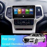Car Navigator per Jeep Grand Cherokee 2008-2012 9.66 pollici HD Schermo orizzontale Android 10 DSP Autoradio multimediale Video Video Navigation