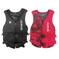 Life Vest & Buoy Kids Adult Neoprene Jacket Swimming Boat Buoyancy Water Sports Ski Wakeboard Safety Floating Suit