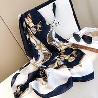 2021 Designer famoso Signora Xin Design Design Sciarpe di seta Sciarpa di alta qualità Sciarpa di alta qualità 1800x90cm Consegna gratuita