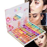 99 cores paleta de sombra holográfico fluorescente brilhante brilhante glitter pigmento olho pallete olhos maquiagem