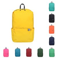 2021 MIUI Bags Colorful backpack women and men outdoor sports travel small fashion bag