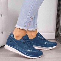 Dress Shoes Novos tênis femininos vulcanizados com tiras, calçado feminino esportivo de estilo lantejoula 68UL