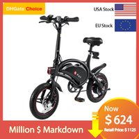Professionelle USA EU-Warehouse DYU D3 PLUS 250W 10AH City Road Faltbare Übung E-Bike Chinesisches Berg Elektrisches Fahrrad