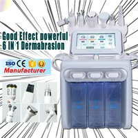 Taşınabilir 6in1 Yüz Tedavi H2O2 Hydra Aqua Su Cilt Peel Dermabrazyon Derin Temizleme RF Ultrasonik Bio Kırışıklık Temizleme Güzellik Makinesi