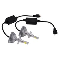 Autoscheinwerfer 2 x LED-Chips Licht 60W 6000LM H4 / 9004/9007 / H13 / H1 / H7 / H3 / 9005/9006 Scheinwerfer-Kit H / L-Strahl-Zwiebeln 6000K