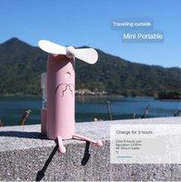 Electric Fans Creative Mobile Phone Bracket Cartoon Water Spray Mini Fan Portable Usb Outdoor Charging Small FAN-50