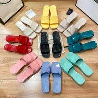 Color Color Color Jalea Plataforma Diapositivas Zapatos Mujeres Summer Square Abre Toe Block Tacones Mules Mules Outdoor Playa Vestido Sandalias Grueso Suela