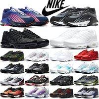 Nike air max tn plus الرجال المرأة الاحذية الثلاثي المحيط أبيض أزرق السرية البحر الاصفر غابة رجل مدرب الرياضة احذية فاز بالمركز الثاني في حجم 36 3 TN Plus 45