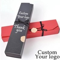 Gift Wrap Custom Logo Labe Kraft Paper Box Package Customize Packaging Wedding Favors Chocolate Rectangle Cake Cookies Boxes Baking