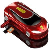 """최신 Ulcool F18 미니 Clamshell 휴대 전화 1.08 """"자동차 키 단일 SIM 무선 블루투스 다이얼러 핸즈프리 미니 작은 플립 휴대 전화"""