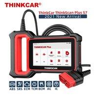 ThinkCar Automotive Diagnostic Tool ThinkScan Plus S7 OBD2スキャナーマルチシステムスキャンSAS SRS DPFリセットコードリーダー