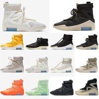 2021 Превосходное качество Королевские мужчины Женские Обувь Страх Бога Повседневная Обувь для кроссовки Тренеры Туманные Туманные Грузные херовые X SA RAID Boots Light