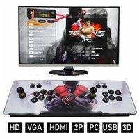 Nostaljik Host Ev Oyunu Pandora 3D Video Oyunları Konsol Kutusu Makinesi 1280 * 720 P Hoparlör HDMI VGA Çıkışı ile 32 GB Çift Arcade Joystick