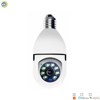 Tuya Smart Life Dual Light source IP Wi-Fi PT Camera Auto Tracking 2 in 1 Bulb Security Cam coloful night vision AS-TY-IP519H