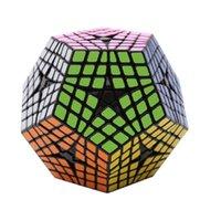 أحدث Shengshou Elite Kilomentx Cube 6x6 Dodecahedron Magic Cube اللغز التعلم التعليمية Cubo Magico لعبة كهدية