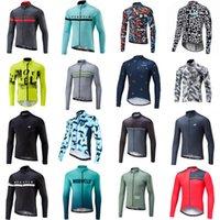 Morvelo Team Spring Summer de manga larga al aire libre Ciclismo Jersey Montaña Bicicleta Hombres Tops Montar Bicicleta Transpirable Sportwear S21030804