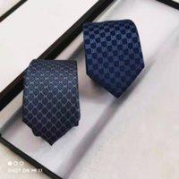 diseñador de marca 100% seda corbata con caja de embalaje corbatas clásicas de alta calidad casual de hombres estrechos