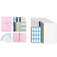 Gift Wrap 28PCS Budget Planner System Organizer Binder Cash Envelope With 12PCS Transparent Bags, Zipper Envelopes