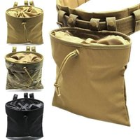 Outdoor Bags Military AR15 Molle System Tactical Army Accessories Magazine Pouch Drop Waist Hunting Tools Dump Recovery Bag