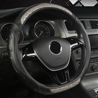 Steering Wheel Covers FeKoFeKo Leather Car Cover For Mitsubishi ASX Outlander Lancer Pajero L200 Mirage Triton Attrage Auto Styling
