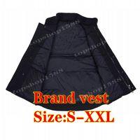 Erkek Aşağı Yelek Erkek Kadın Kış Ceket Kaban Yüksek Kalite Gündelik Marka Yelekler Sıcak Boyut S-XXL Tutun