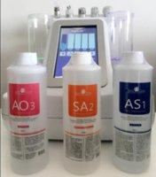 Aqua Peel Solution 400ml por garrafa Hydra Dermaabrasão Facial Limpeza Blackhead Export Exportação Líquido Reparo Pequenas bolhas de água Aplicar