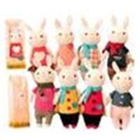 Valentine's Day gift the tiramisu rabbit METOO microphone Rabbit doll plush toy with gift box