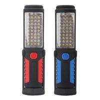 COB LED Lampe de contrôle de travail de travail à piles flexible avec une base magnétique pour une urgence de camping en plein air