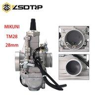 Motosiklet Yakıt Sistemi ZSDTRP Mikuni Karbüratör Vergaser Karb TM28 28mm Düz Slayt Performansı Yarış