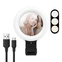 Flashes ACEHE Y06 Video Conference Light 16cm Selfie Ring For IPad Laptop PC Webcam With Clip Youtube Live