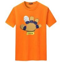 Mens Stylist T Shirts Summer T-Shirt Palm Printing High Quality Tee-Shirt Hip Hop Men Short Sleeve Tees Size S-XXL S-5XL