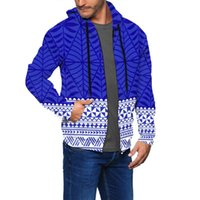 Men's Hoodies & Sweatshirts 6XL Tokelau Hoodie Custom Men Personalised Pullover Sweatshirt Polynesian Tribal Vintage Fashion