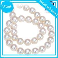 Ys 7-7.5mm Природные сверкающие морские японские акоя жемчужное ожерелье Bruiloft Fine украшения