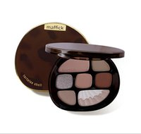 New Amber Glass 8 Colors Eyeshadow Palette opaco Glitter Glitter Shimmer Eye Shadow Palette Eye Shadow Trucco Set 6
