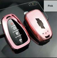 TPU Remote Key Fob Cover Case Shell Holder For Chevy Malibu Cruze Camaro Equinox