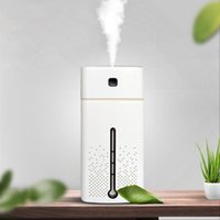 Humidifiers 1000ML Air Humidifier For Home USB Aroma Diffuser LED Backlight Office Mist Maker Refresher Humidification Gift Quiet Work