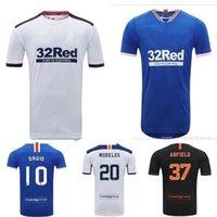 حار Sale2020 2021 Glasgow Rangers FC Soccer Jerseys Defoe Morelos Kent Stewart Aribo Arfield Custom 20 21 الصفحة الرئيسية بعيدا