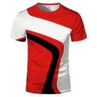 2020 Vendita calda New Fashion Personalità creativo 3D T-shirt T-shirt Top T-shirt Unisex coppia comoda manica corta